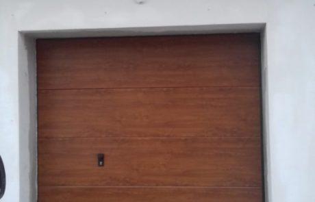 Montaż bramy segmentowej Krispol- Pabianice