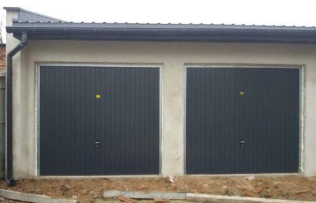 Montaż drzwi garażowych uchylnych - Zduńska Wola