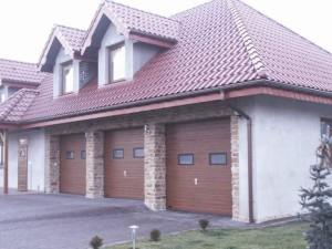 Montaż bram garażowych segmentowych - Pabianice