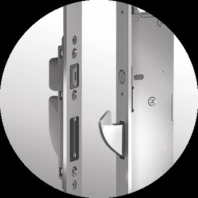 Automatyczny zamek drzwi