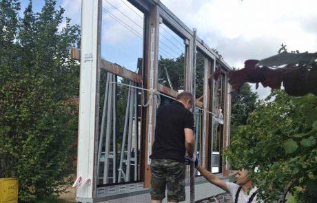Montaż okna przesuwnego HST - Sieradz