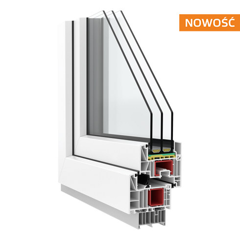 Profil okna Krispol FEN 82